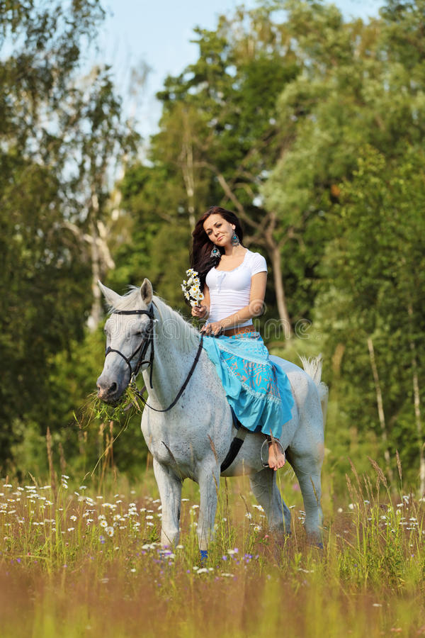 Horse riding stock images