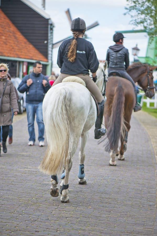 Horse-riding Security stock photos