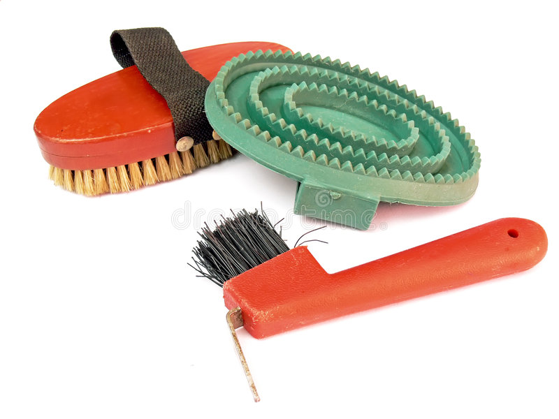 Download Horse's tools stock image. Image of bristle, bright, detail - 6906395