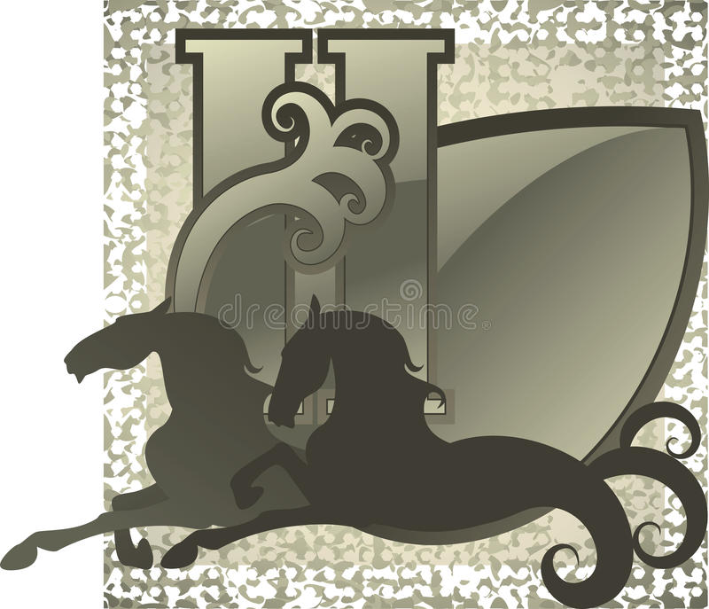 Download Horse silhouette stock vector. Illustration of running - 29253199