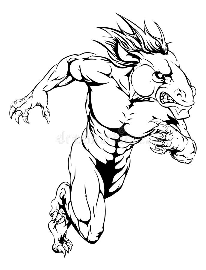 Broncos Stock Illustrations