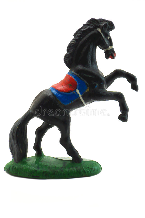 Horse statuette royalty free stock photos