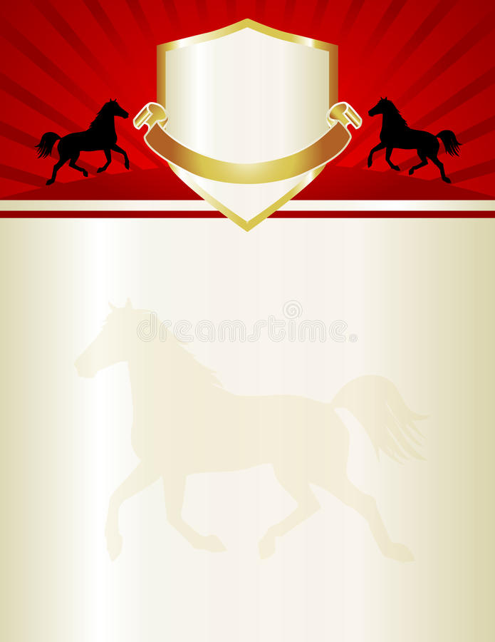 Horse template stock illustration image of award flyer 22980049 download horse template stock illustration image of award flyer 22980049 yadclub Images