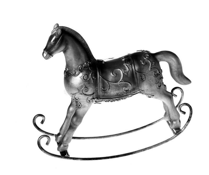 Download Horse toy stock image. Image of silver, play, revival - 17422427