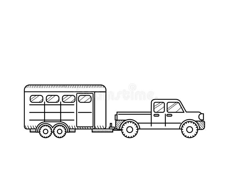 Trailer Car Clip Art Motor Vehicle Vector Graphics, PNG, 512x512px, Trailer,  Car, Horse Livestock Trailers, Motor