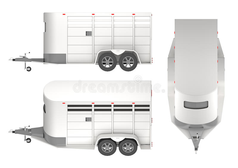 Horse Trailer Png Download - Car With Trailer Icon Clipart (#1001958) -  PinClipart