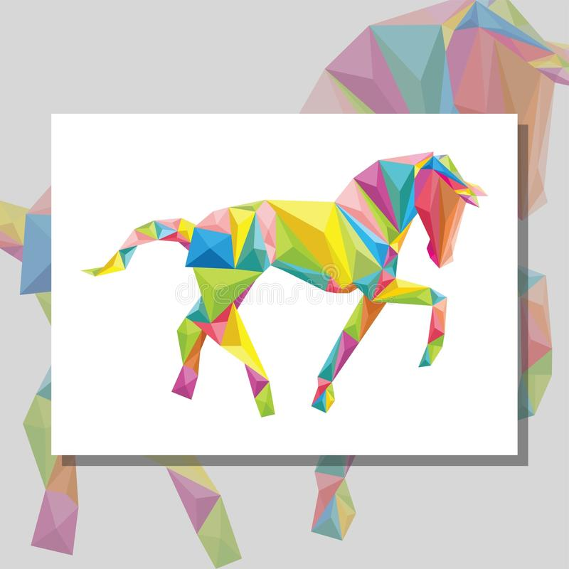 Download Origami Horse Stock Illustration Of Wild
