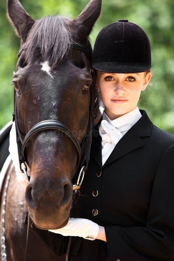 Horseback Riding Girl Royalty Free Stock Images