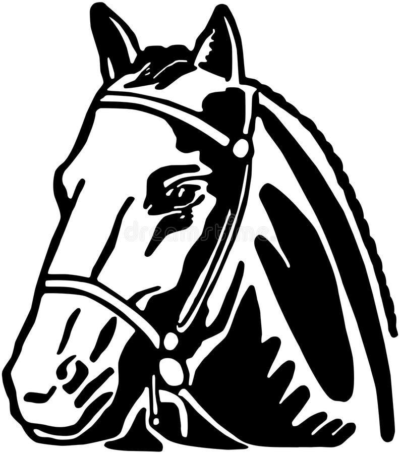 Horsehead illustration libre de droits