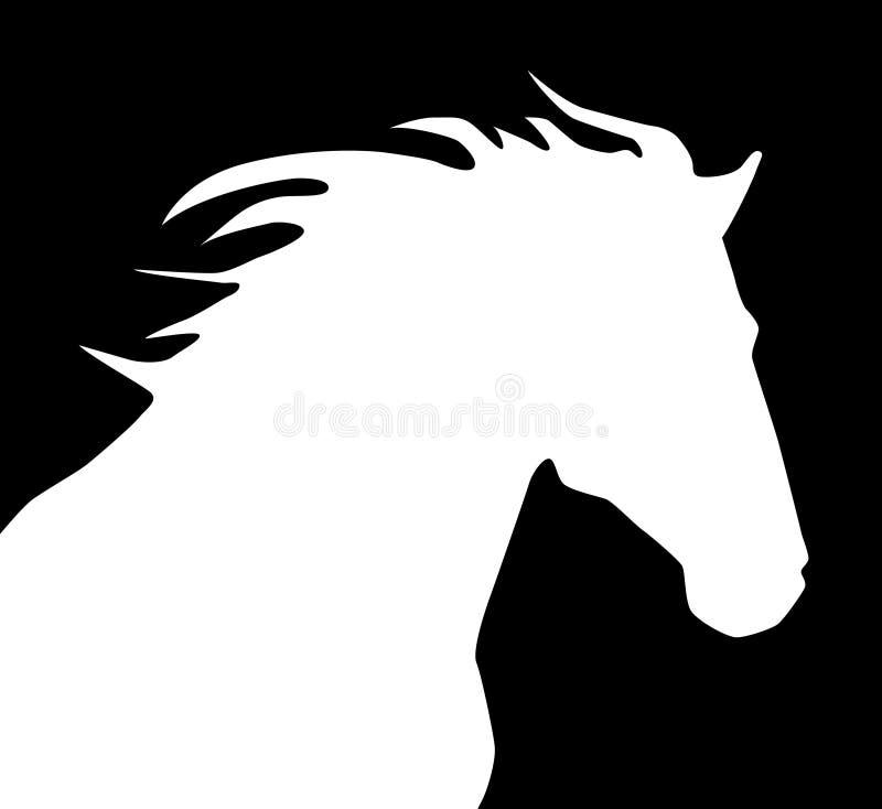 HorseLogo illustration stock