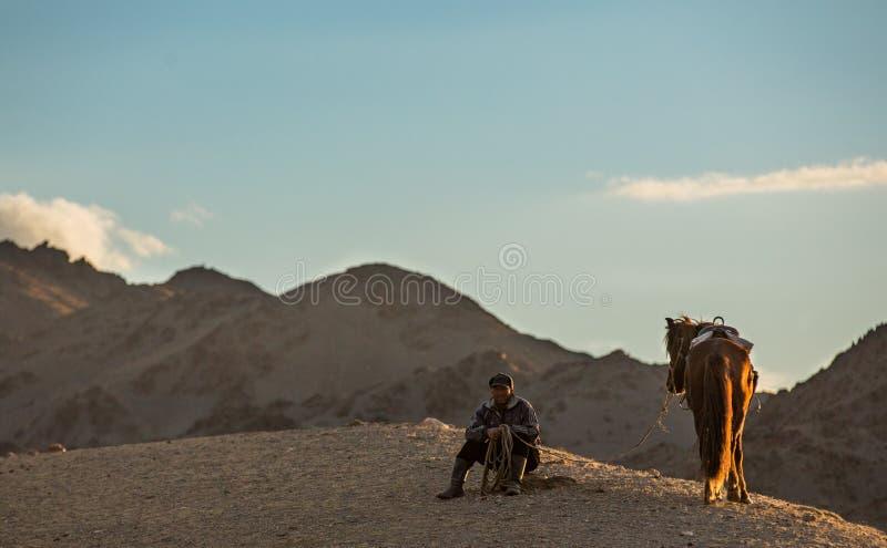 horseman arkivfoton