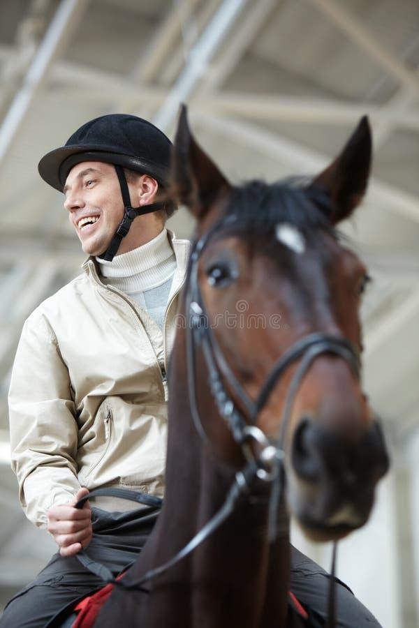 horseman arkivfoto