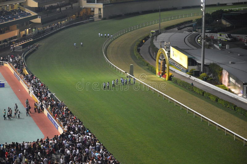 Horserace Hong Kong immagine stock