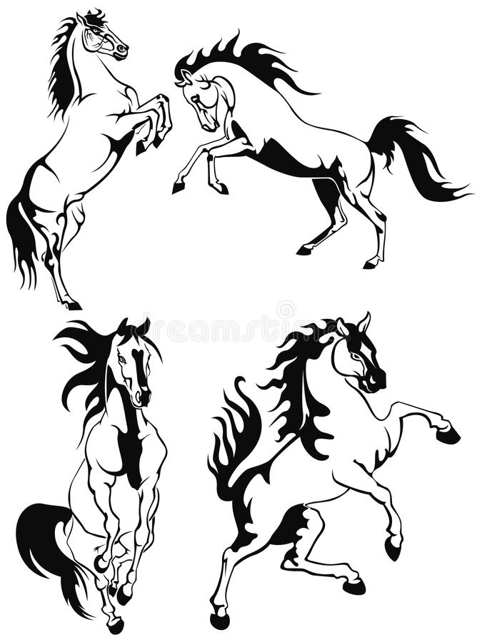 Download Horses Royalty Free Stock Photos - Image: 18243488