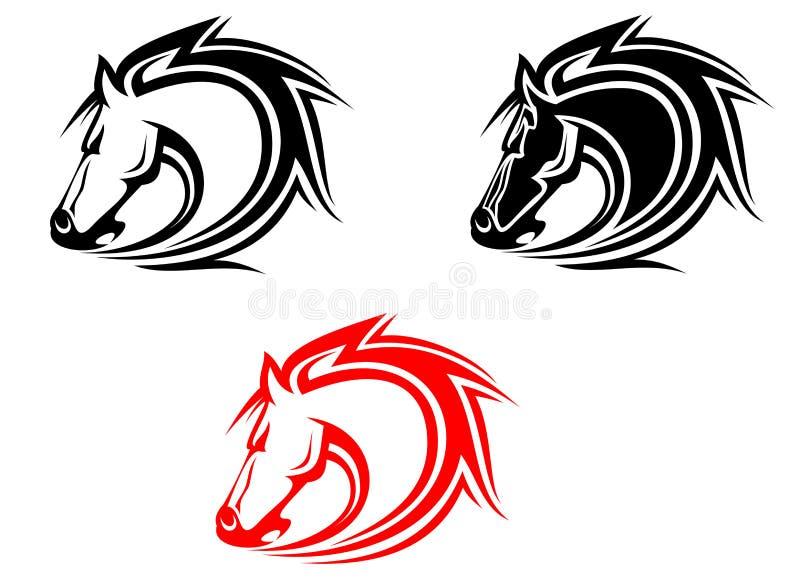 Tattoo Stock Photos: Horses Tattoo Royalty Free Stock Photos