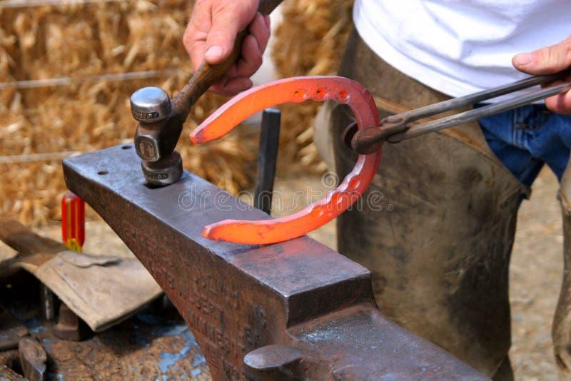 horseshoe горячий красный цвет стоковые фотографии rf