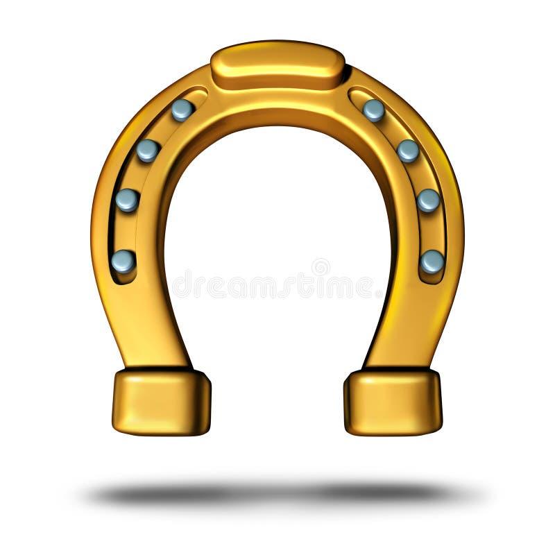 horseshoe illustration stock