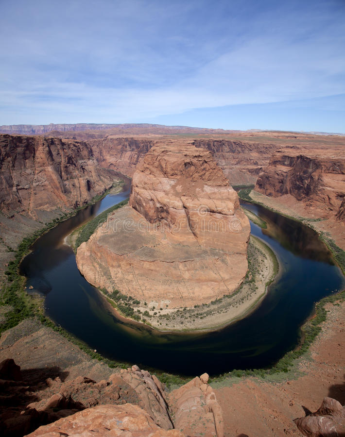 Download Horseshoe Bend stock photo. Image of page, rock, grand - 14861732