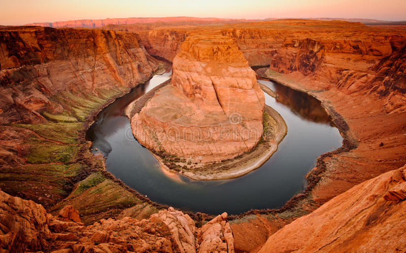 Horseshoe Bend royalty free stock photography