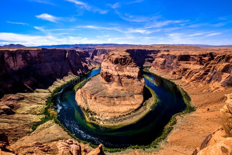 Horseshoe Bend, Arizona royalty free stock images