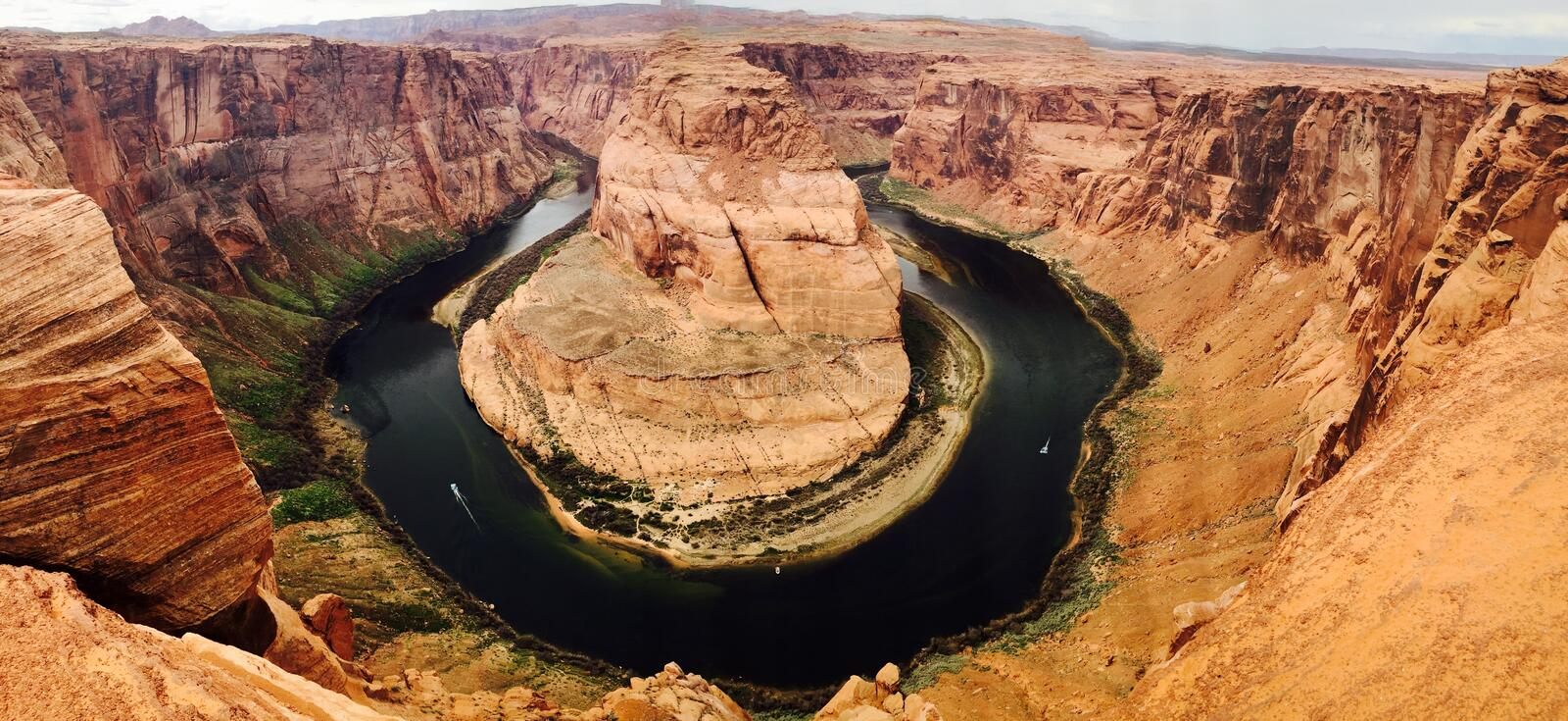 Horseshoe Bend, Arizona Free Public Domain Cc0 Image