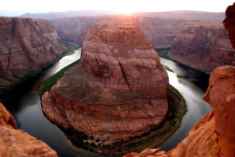 Horseshoe Bend colorado river stock photos