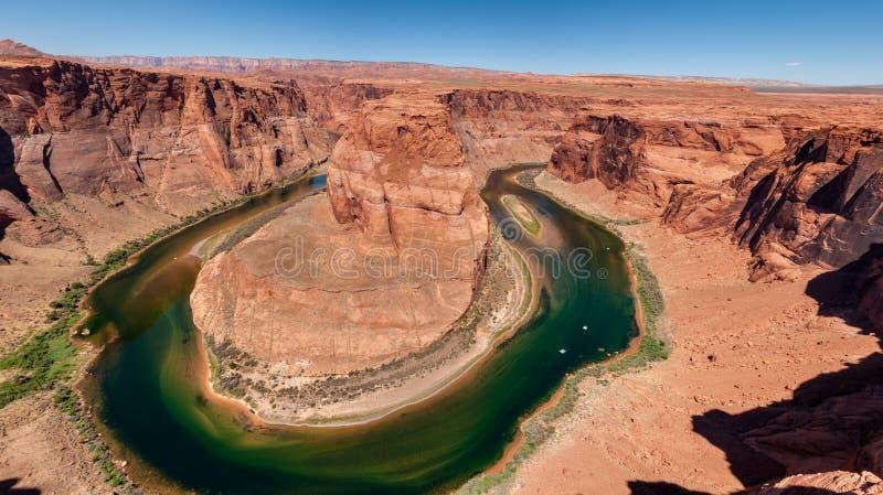Horseshoe Bend in der Nähe von Page, Arizona, Vereinigte Staaten lizenzfreie stockbilder