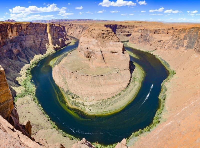 Horseshoe bend at Grand canyon, Arizona, AZ, USA stock photography