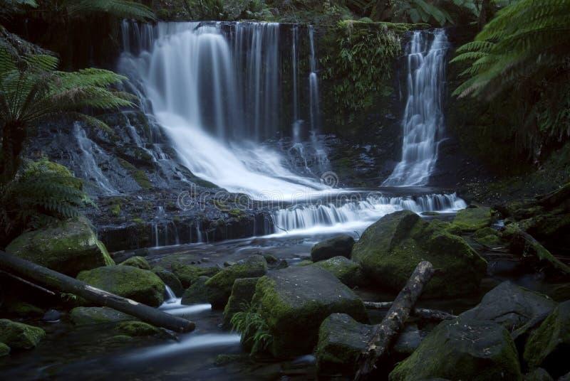 Coastline Australia_Horseshoe Falls. Horseshoe Falls in TAS Australia stock photo