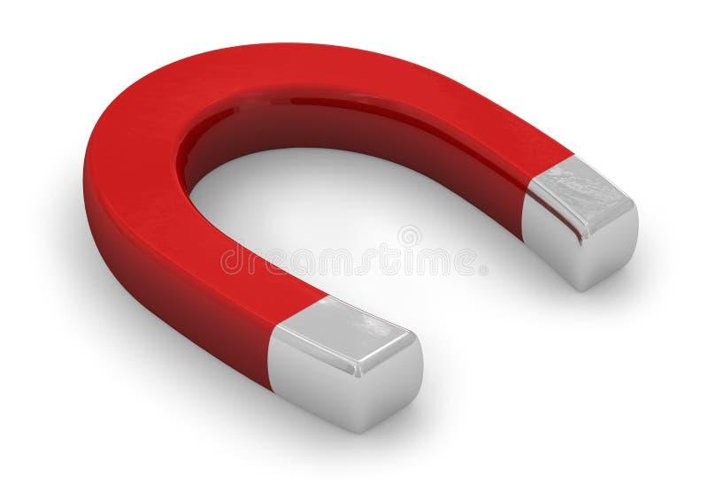 Download Horseshoe magnet stock illustration. Image of permanent - 11681748