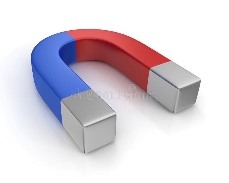 Download Horseshoe magnet stock illustration. Image of background - 28443330