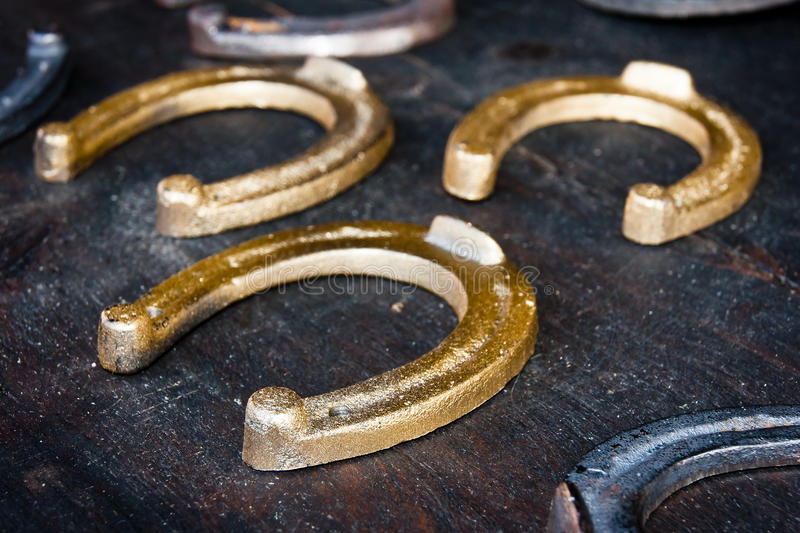 Download Horseshoes stock image. Image of iron, antique, steel - 20952357