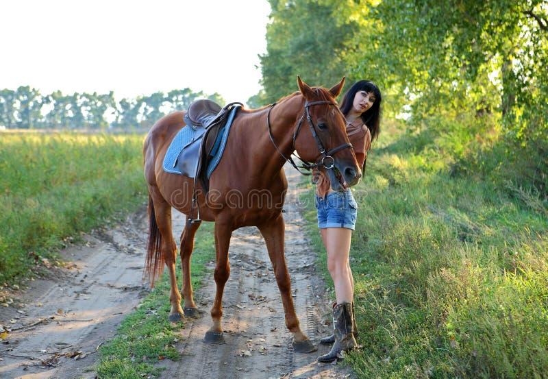 horsewoman imágenes de archivo libres de regalías