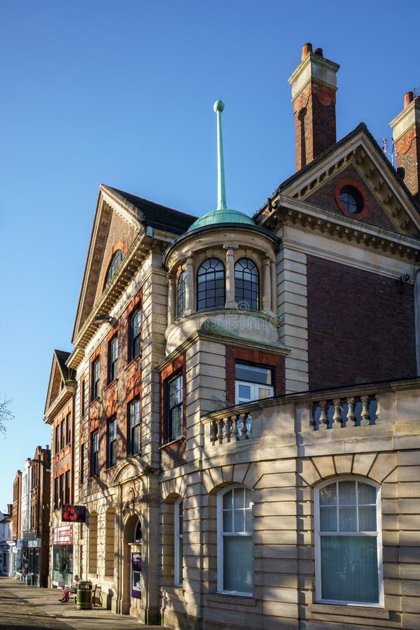 Free HORSHAM WEST SUSSEX/UK - NOVEMBER 30 : Substantial Bank Building Stock Photo - 133214270