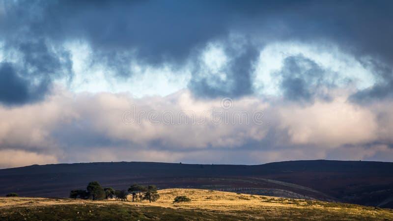 Horsheshoe Pass, Wales royalty free stock photos