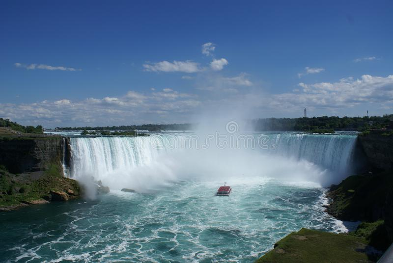 Horshoe Niagara Falls Ontario Toronto Kanada stockbilder