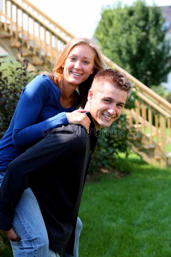 Download Horsing Around stock image. Image of couple, laughing - 3015701