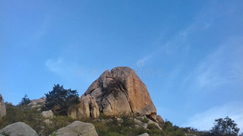 Horsley-Hügel, Chittoor, Andhra Pradesh lizenzfreies stockbild
