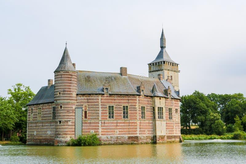 Horst Castle cerca de Lovaina en Bélgica imágenes de archivo libres de regalías