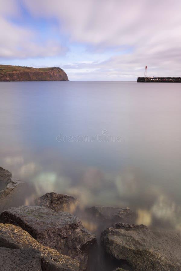Horta Dock lizenzfreie stockfotografie