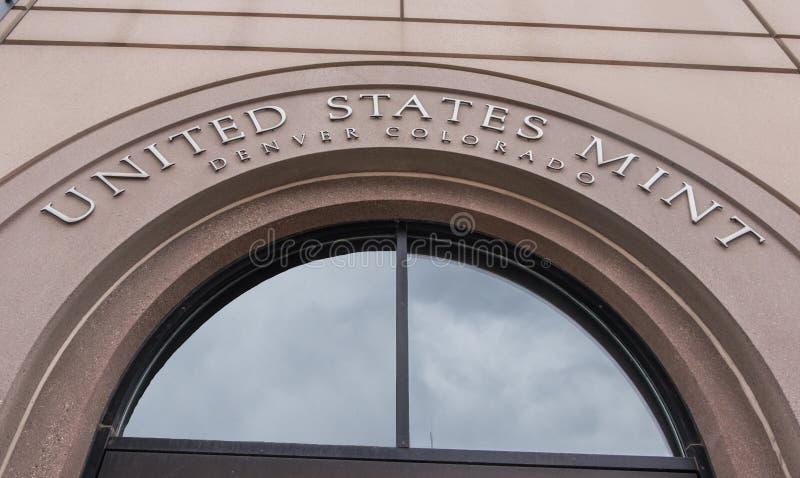 Hortelã do Estados Unidos em Denver imagem de stock royalty free