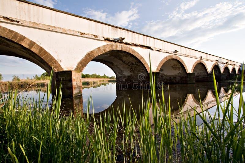 Hortobagy Bridge stock photos