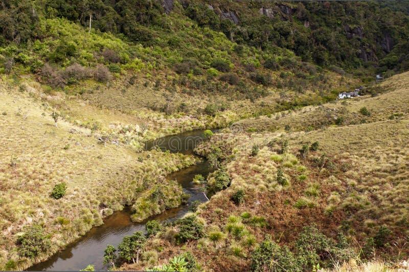 Horton równiien park narodowy Sri Lanka zdjęcia royalty free