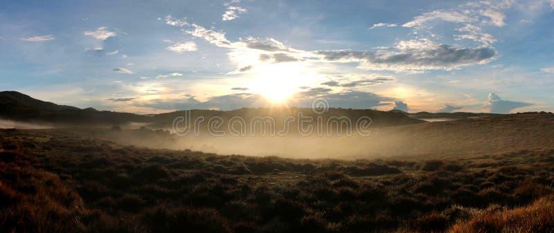 Horton równiien park narodowy w ranku obrazy royalty free