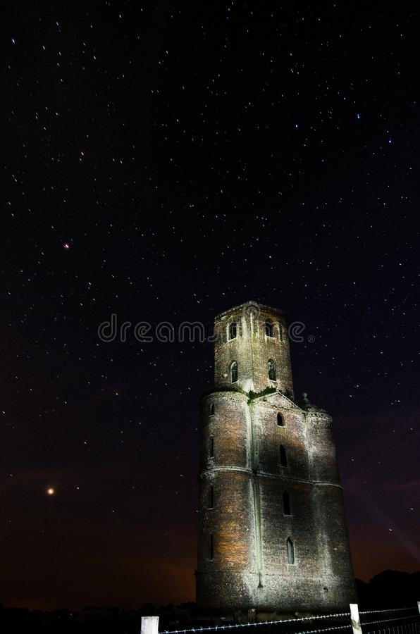 Horton wierza, gwiazdy Dorset obraz stock