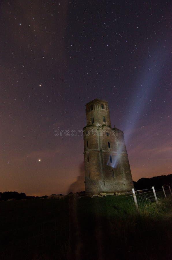 Horton wierza, gwiazdy Dorset fotografia royalty free