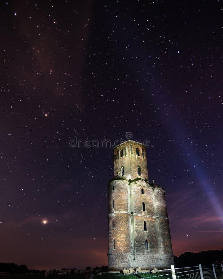 Horton wierza, gwiazdy Dorset zdjęcie royalty free