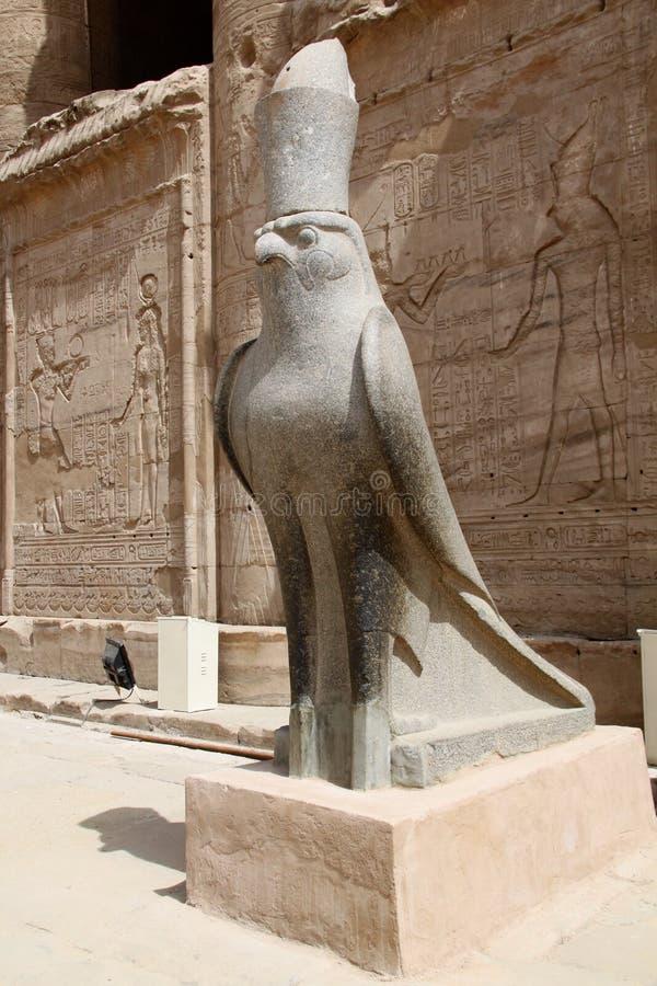 Horus - Edfu fotos de stock royalty free