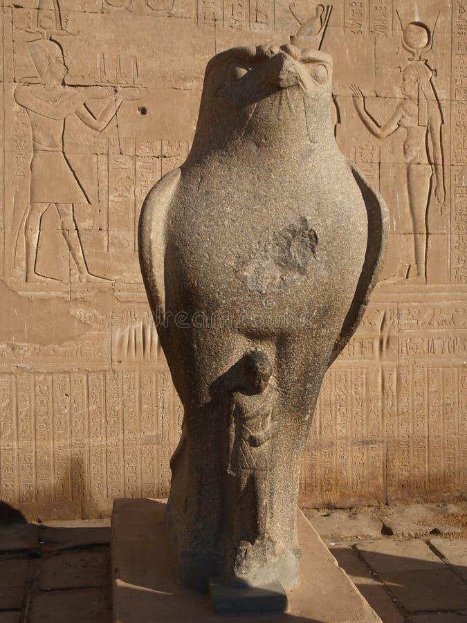 Horus en Egipto imágenes de archivo libres de regalías