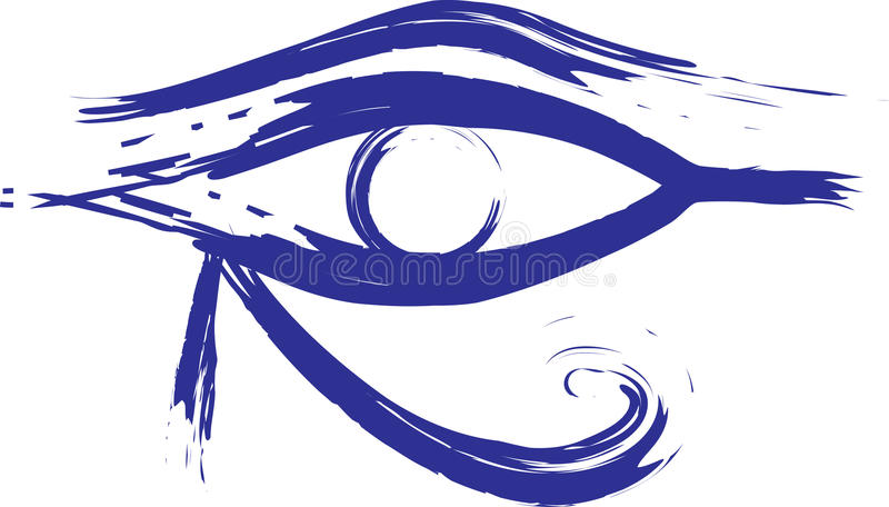 Horus Eys stock illustratie